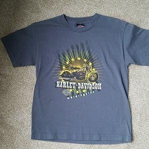 Youth Large Harley Davidson tshirt